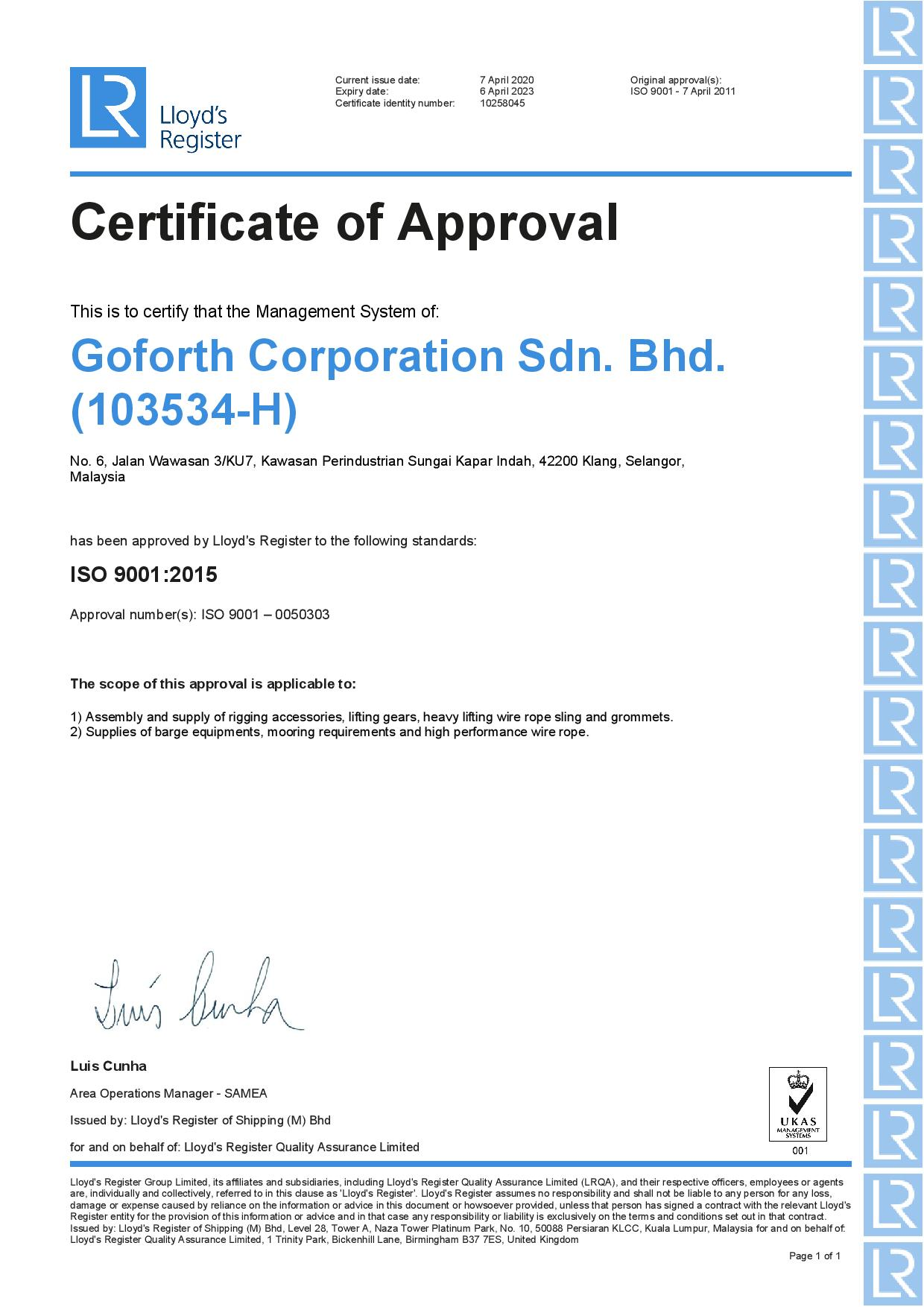 QMS-Goforth Corporation Sdn. Bhd.-UKAS-page-001